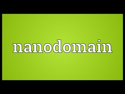 Header of Nanodomain