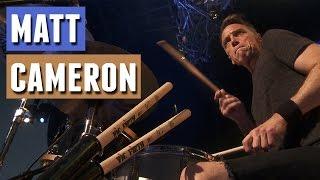 PEARL JAM Matt Cameron - Even Flow (drum-cam)