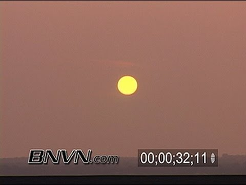 6/27/2006 Hazy Sunset Time-lapse Video
