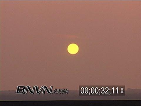 6/27/2006 Hazy Sunset Time-lapse Video