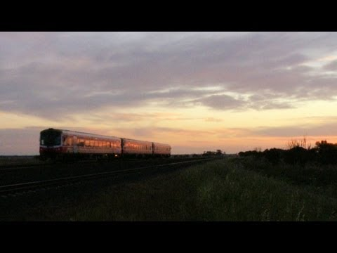 V/line Sprinter Railcars At Sunset : Australian Passenger Train - PoathTV Railways