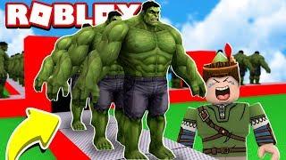 FÁBRICA DO HULK NO ROBLOX!! (Super Hero Tycoon)