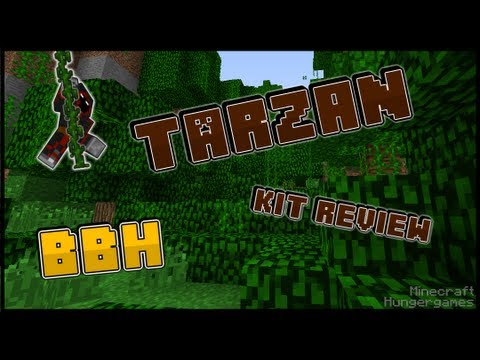 MCPVP.com   Review #20 Tarzan Kit   Minecraft Hunger Games