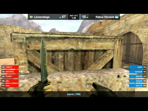Na`Vi vs. LEMONDOGS @ dust2