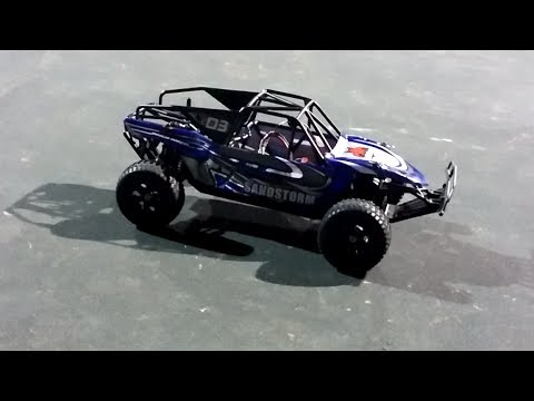 Redcat Sandstorm Baja Buggy With Helion 12t Metric 550 Brushed Motor