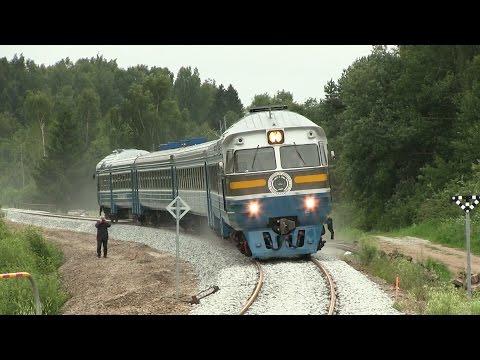 Обкатка Таджикистанского дизель-поезда / Test run of Tajikistan DMU