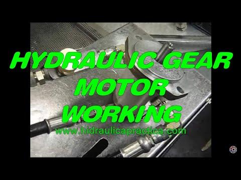 Hydraulic Gear Motor How It Works Youtube
