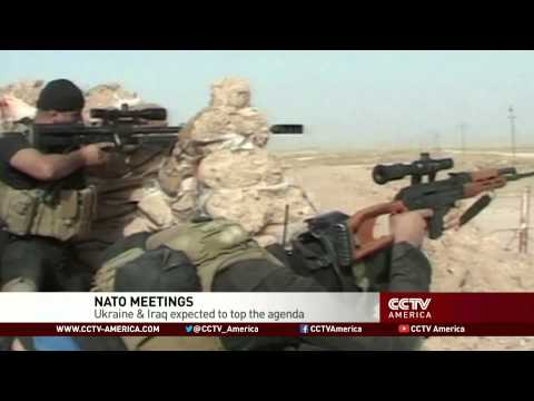 NATO meetings: Ukraine and Iraq expected to top agenda