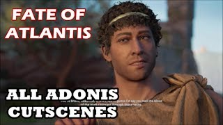 Assassin's Creed - Fate of Atlantis: Episode 1 - All Adonis Cutscenes & Romance