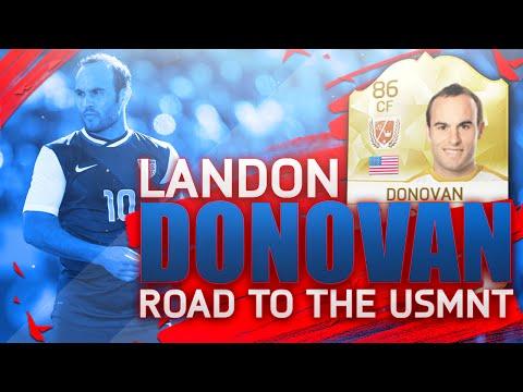 FIFA 16 - Legend Landon Donovan's Road to the USMNT - USA vs Canada - EP #2