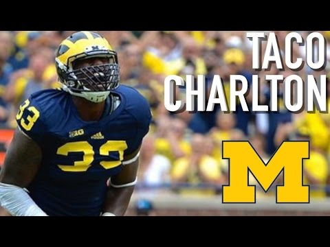 Taco Charlton Monster Michigan Highlights