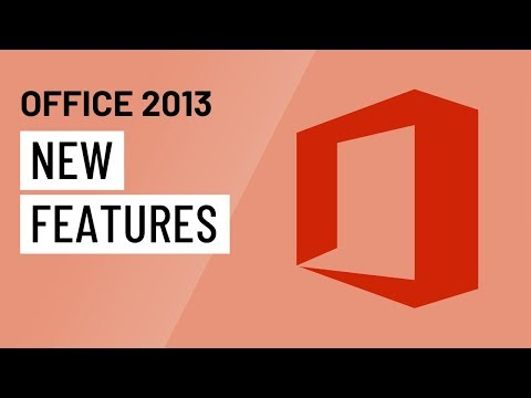 New Features in Office 2013