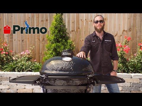 Primo Oval XL Charcoal Kamado Grill Overview   BBQGuys.com