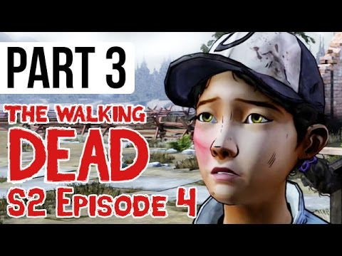 The Walking Dead Season 2 Episode 4 Walkthrough Part 3 - Amid the Ruins (Gameplay HD)
