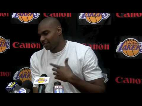 ESPNLA.com: Andrew Bynum 2010 exit interview Part I Video
