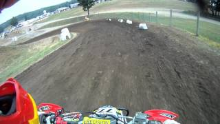 Unadilla - Pro Am Production 2nd Qualifier - Nick Moser -Gopro - 2012