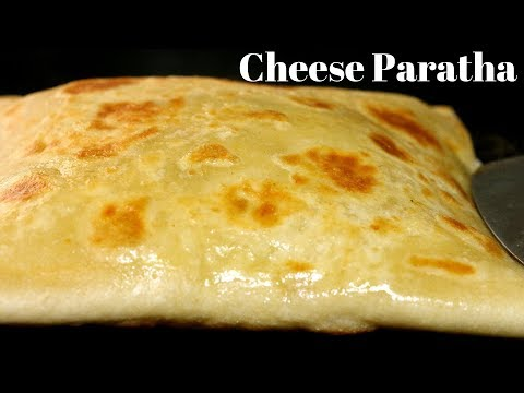 Stuffed Cheese Paratha Recipe | Indian Breakfast Recipe by Kanak's Kitchen