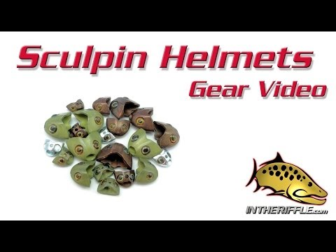 Fish Skull Sculpin Helmet Fly Tying Instructions and How To...