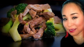 Broccoli & Ginger Beef Stir Fry Chinese Style