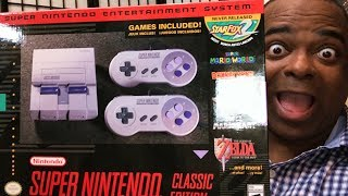 NINTENDO SENT ME the Super NES Classic Edition!