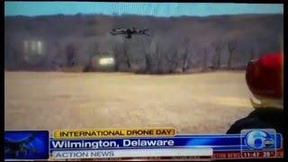 Team Delaware International Drone Day - Hosted by Skygear Solutions - 6 ABC News Coverage