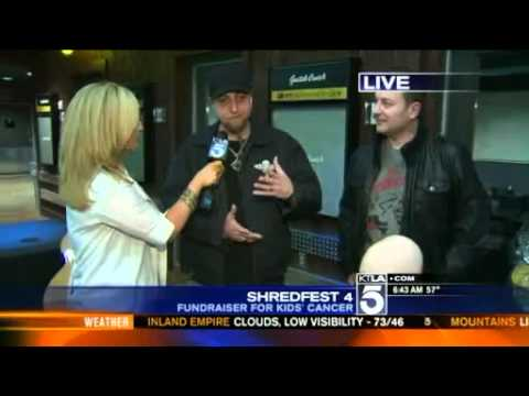 Shavo Odadjian - Shred Fest 4 - KTLA interview