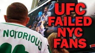 UFC Failed New York City Fans at McGregor vs. Khabib Press Conference