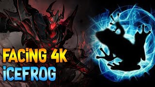FACING DOTA 1 BETA TESTER ICEFROG ◄ SingSing Moments Dota 2