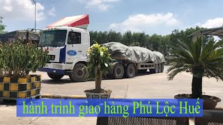 Container driver - Delivery date at Loc Hoa, Phu Loc, Hue