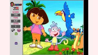 How to play Dora Hidden Number Game game | Free online games | MantiGames.com