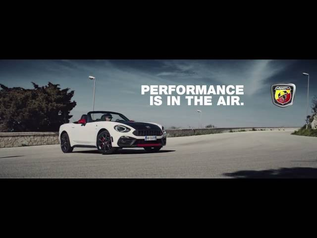 ABARTH 124 spider - PERFORMANCE IS IN THE AIR.