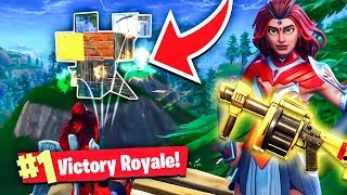HOW TO WIN EVERY FIGHT IN FORTNITE BATTLE ROYALE!!! (Fortnite Battle Royale Solo Gameplay Win)