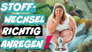 fettverbrennung ankurbeln lebensmittel