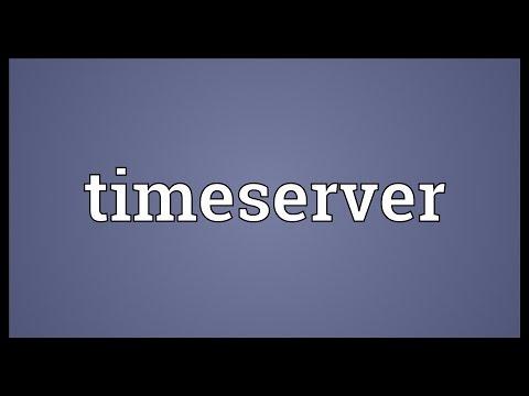 Header of timeserver