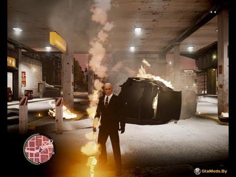 GTA IV MODS | Мод : Полицейский и Хитман | #1 [ТрудоВЫЕБУДНИ]