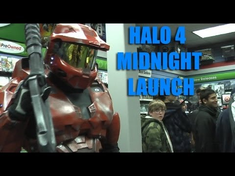 Master Chief Armor Halo 4 Midnight Launch
