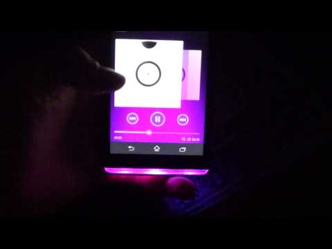 Sony Xperia SP Music Light