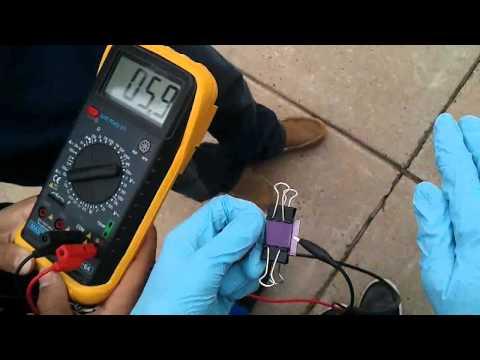 Dye-Sensitized Titanium Dioxide Solar Cell