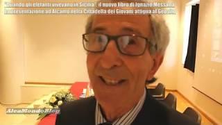 """""""Quando gli elefanti vivevano in Sicilia"""". Presentato ad Alcamo il nuovo libro di Ignazio Messana"""