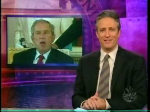 Fox News Edits Criticism of Bush Out of Daily Show Clip