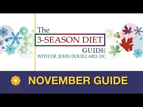 The 3-Season Diet Challenge: November Guide