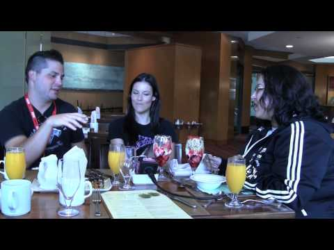 SDCC '10 - Breakfast with Adam and Rileah!