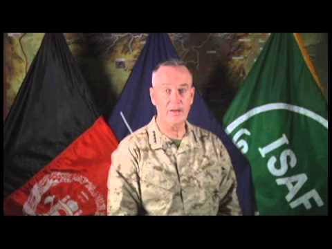 ISAF Commander General Joseph F. Dunford NAWRUZ Message (Dari)