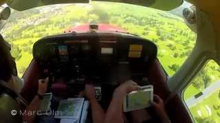 Zell am See Mountain Approach in Cessna 172 Skyhawk