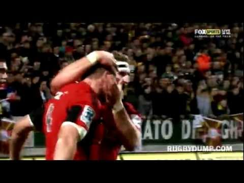 Super Rugby plays of the Week Rd.17 | Super Rugby Video Highlights 2012