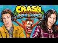 HARDEST GAME EVER?! | Crash Bandicoot N Sane Trilogy (React: Gaming)
