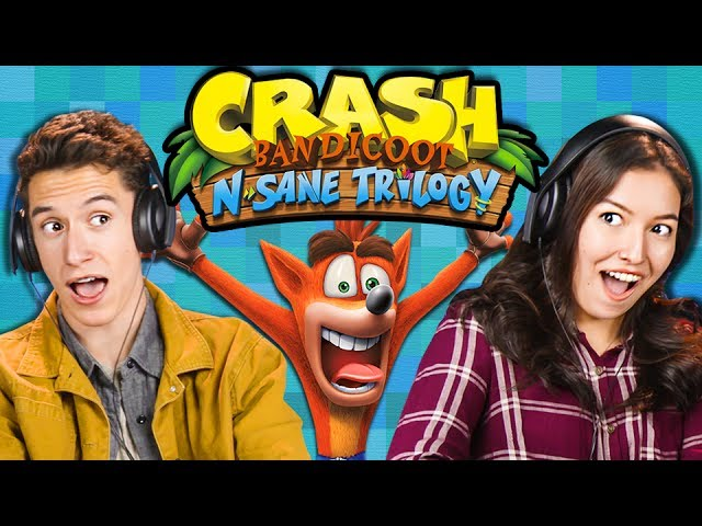 HARDEST GAME EVER?! | Crash Bandicoot N Sane Trilogy (React: Gaming)