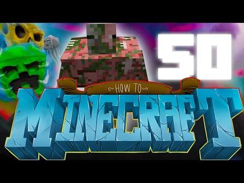 Epic Zombie Pigman Boss!! How To Minecraft #50 video
