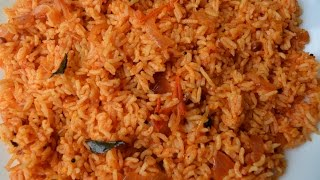 Simple and Easy Tomato Rice /Thakkali Sadam - Variety Rice | Lunch Box Recipe (in Tamil