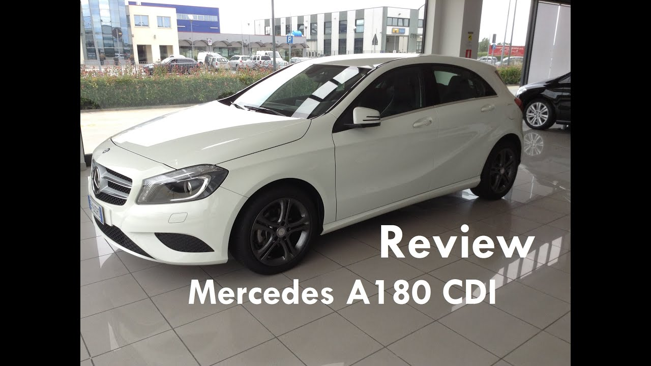 mercedes benz a180 cdi sport review revisione mercedes benz a180 cdi sport youtube. Black Bedroom Furniture Sets. Home Design Ideas